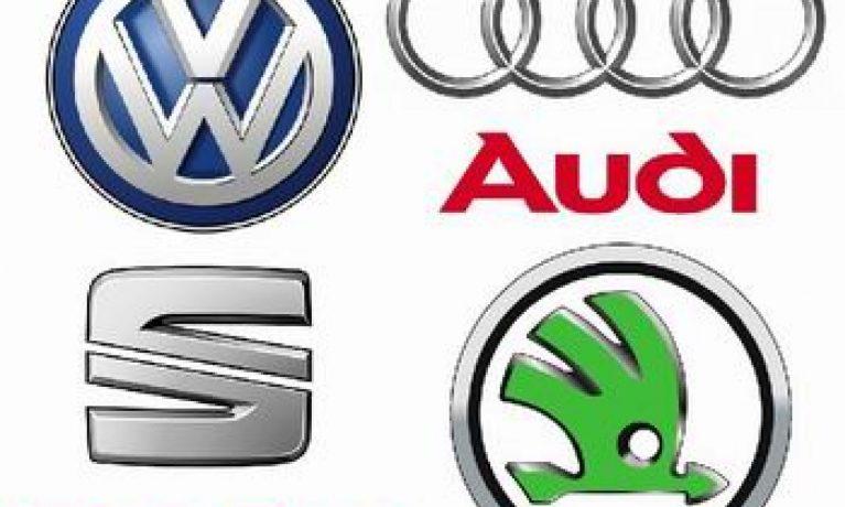Audi, VW, Seat in Skoda